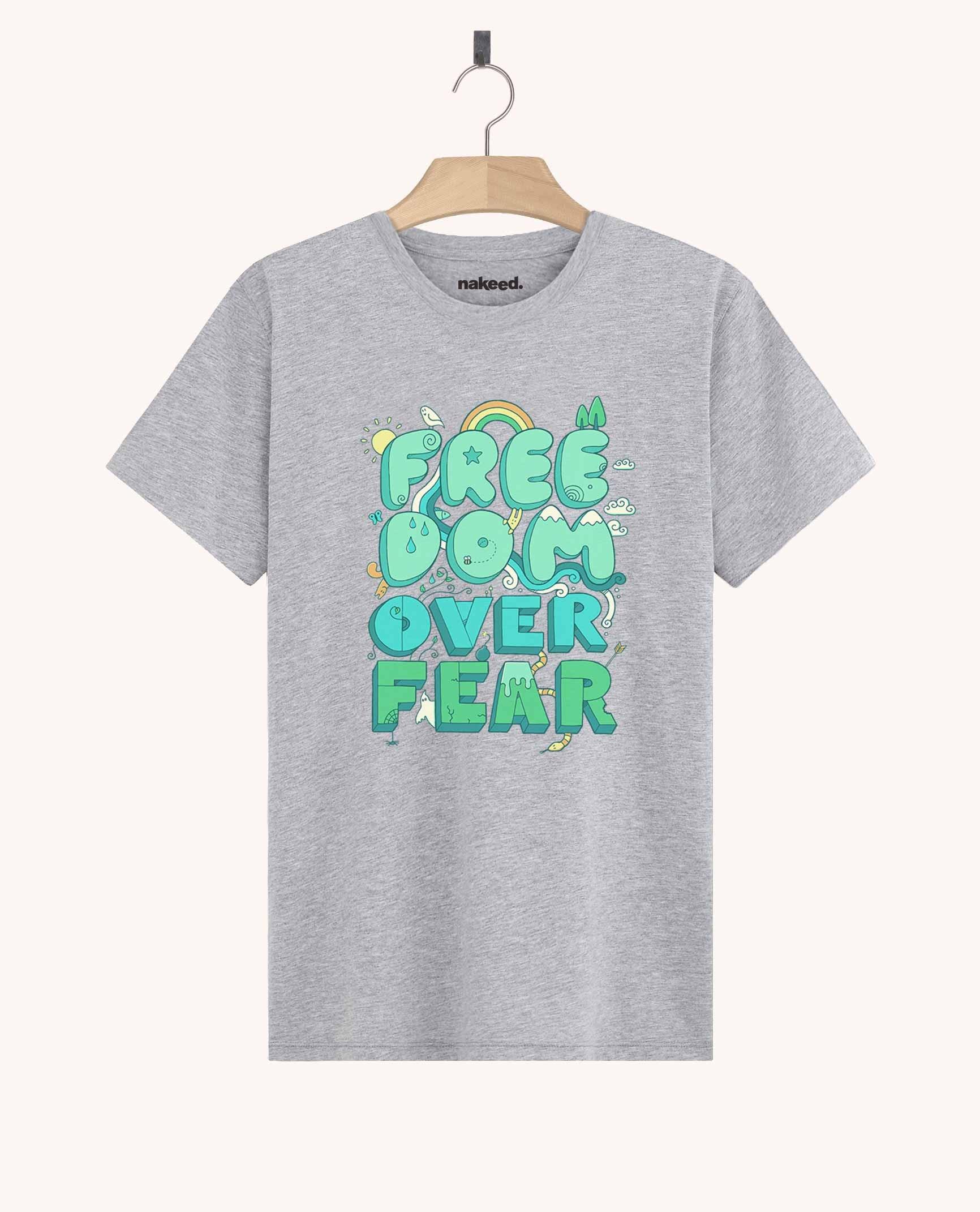 Teeshirt Freedom Over Fear