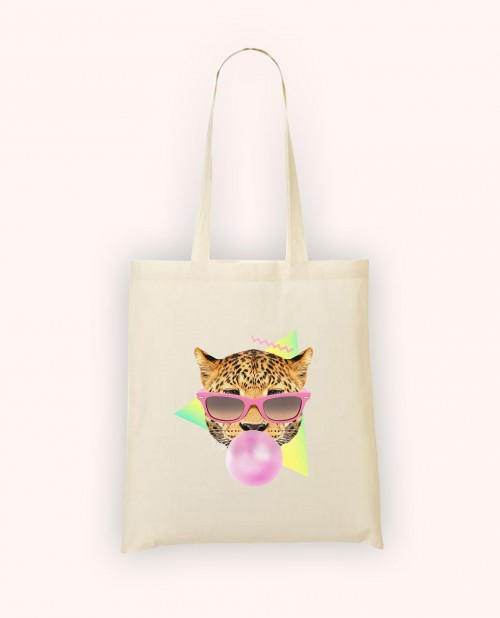 Totebag Bubble Gum Leo