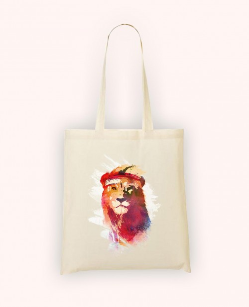 Totebag Gym Lion