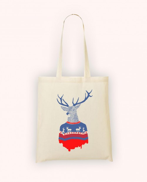 Totebag Winter Pullover