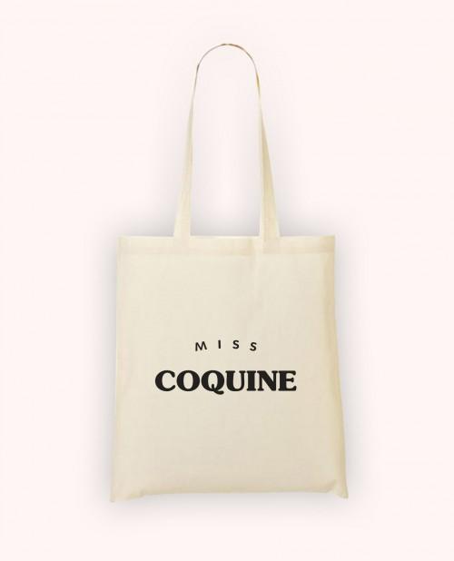 Totebag Miss Coquine