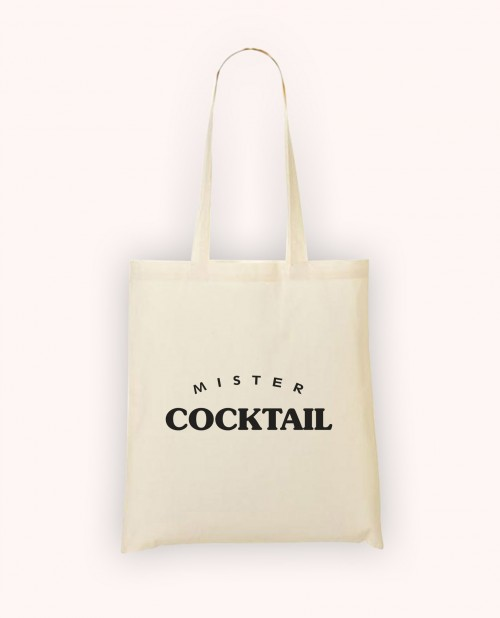 Totebag Mister Cocktail