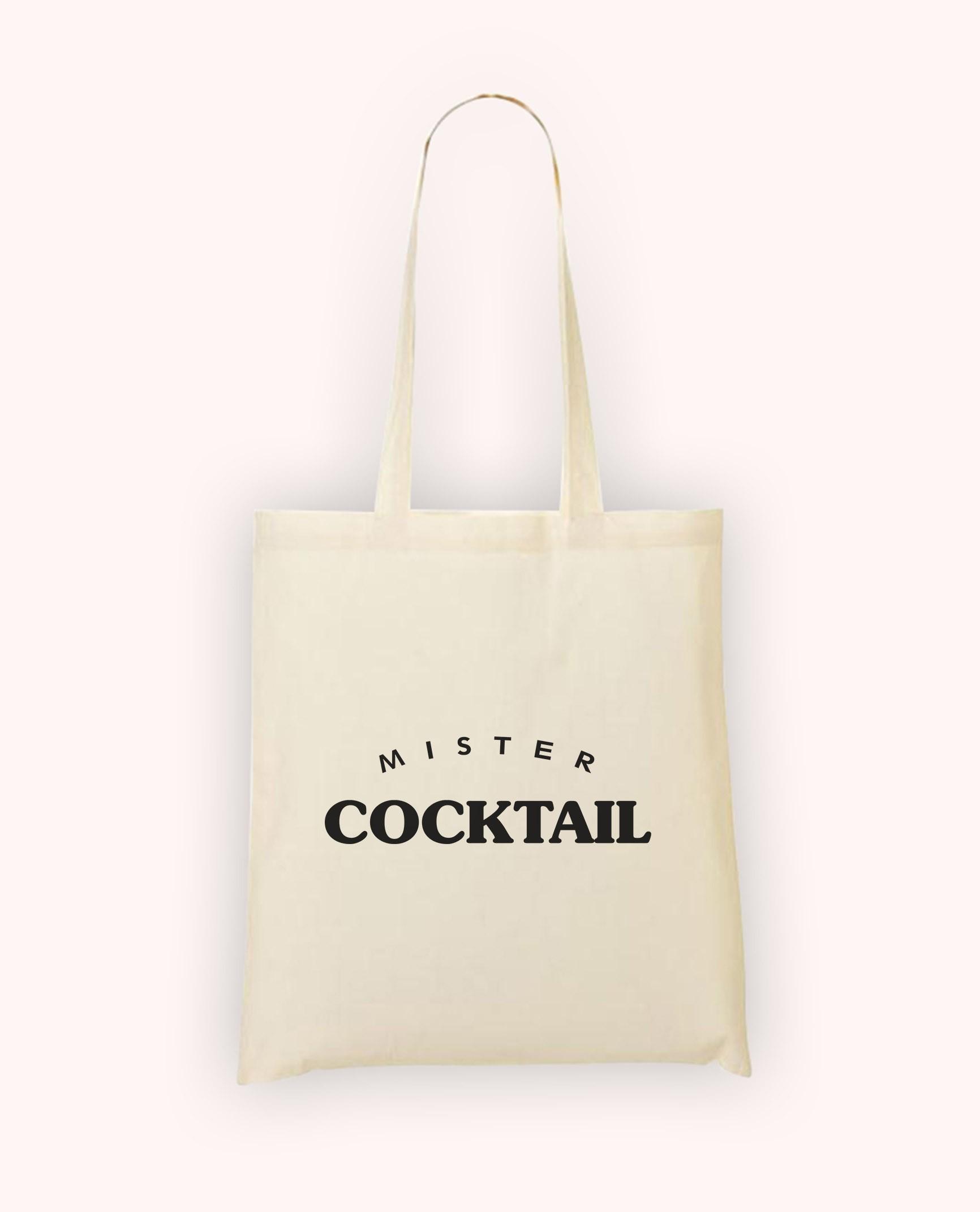 Totebag Mister Cocktail