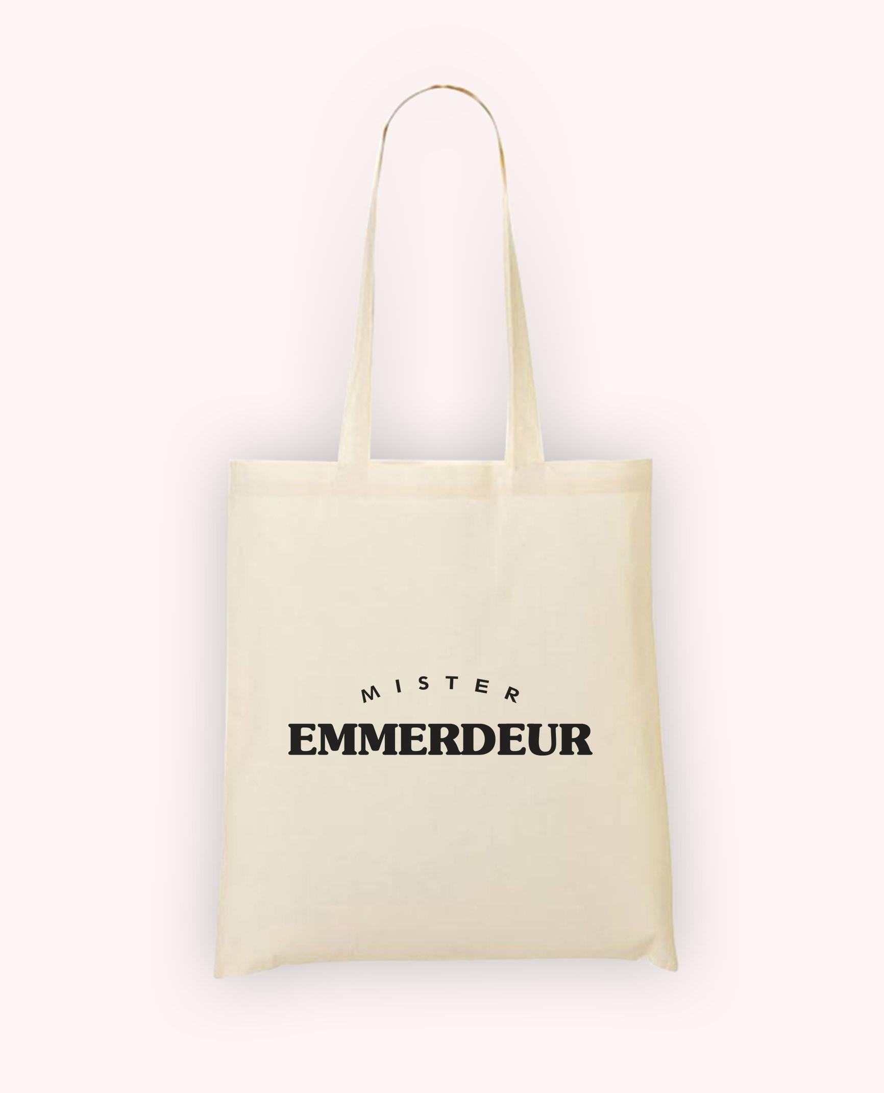 Totebag Mister Emmerdeur
