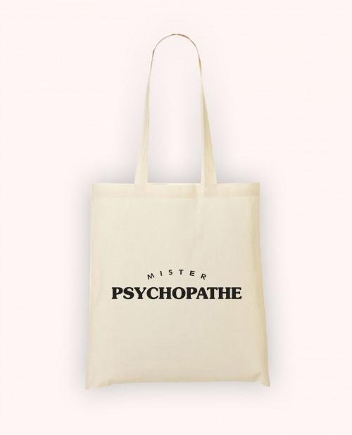 Totebag Mister Psychopathe