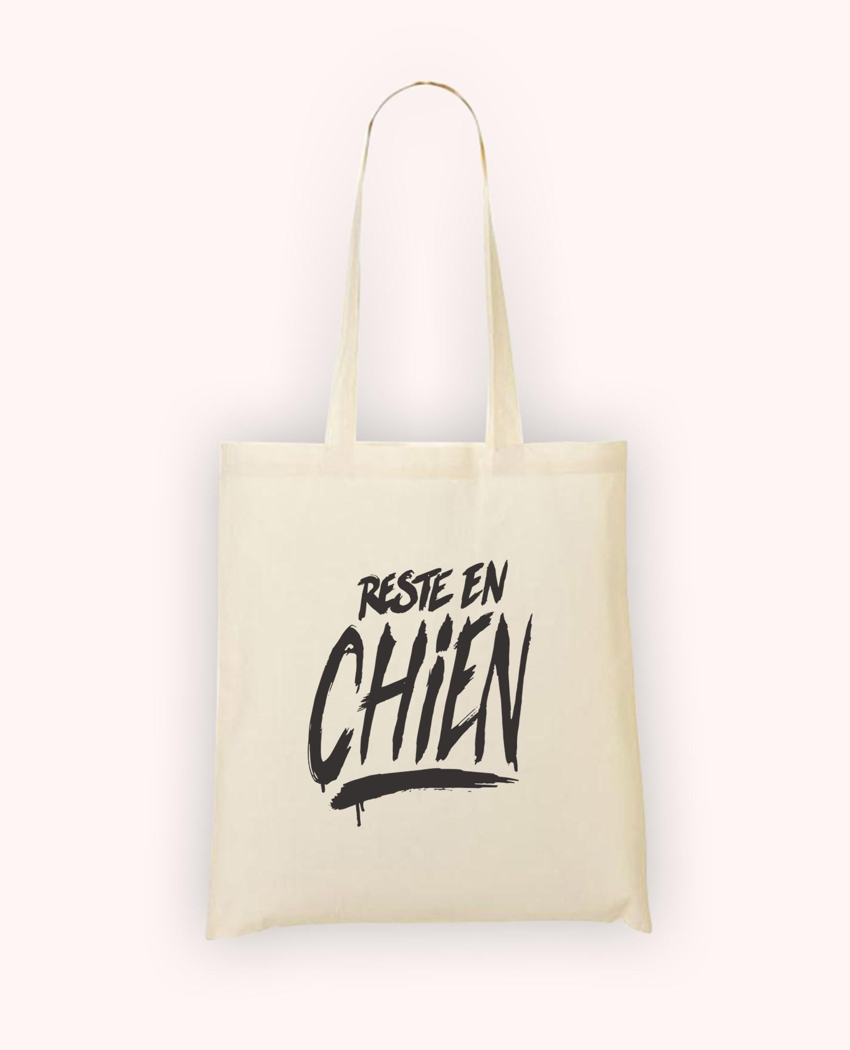 Totebag Reste en Chien