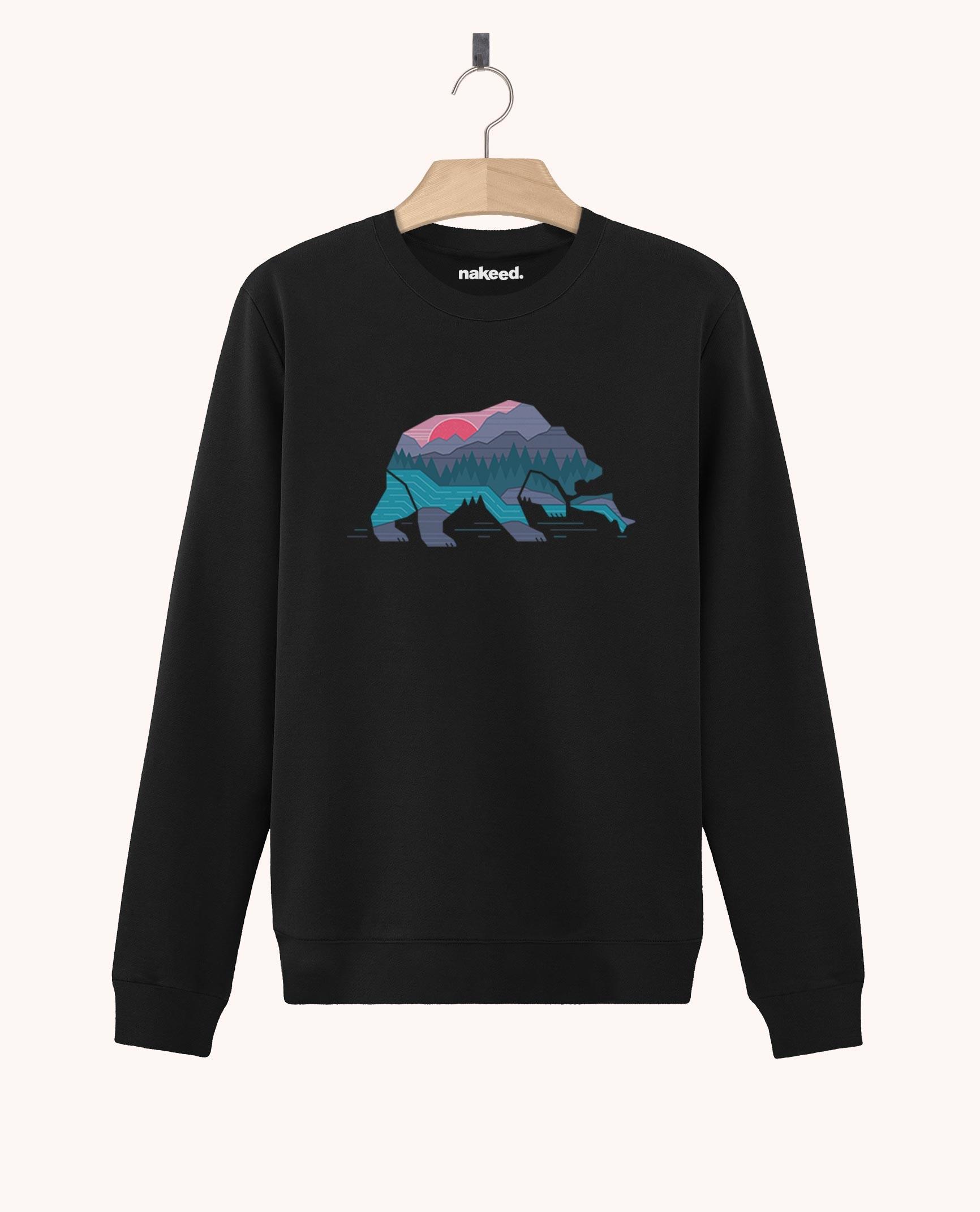 Sweatshirt Bear Country