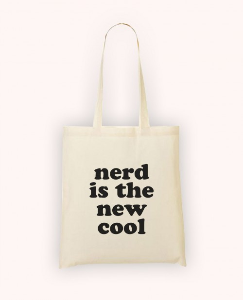 Totebag Nerd is the New Cool