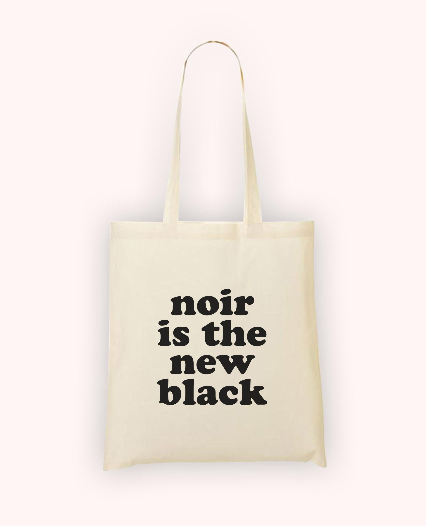 Totebag Noir is the New Black