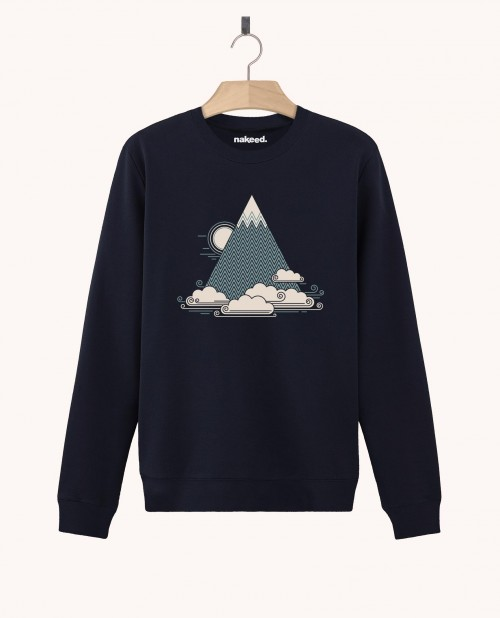 Sweatshirt Cloud Mountain