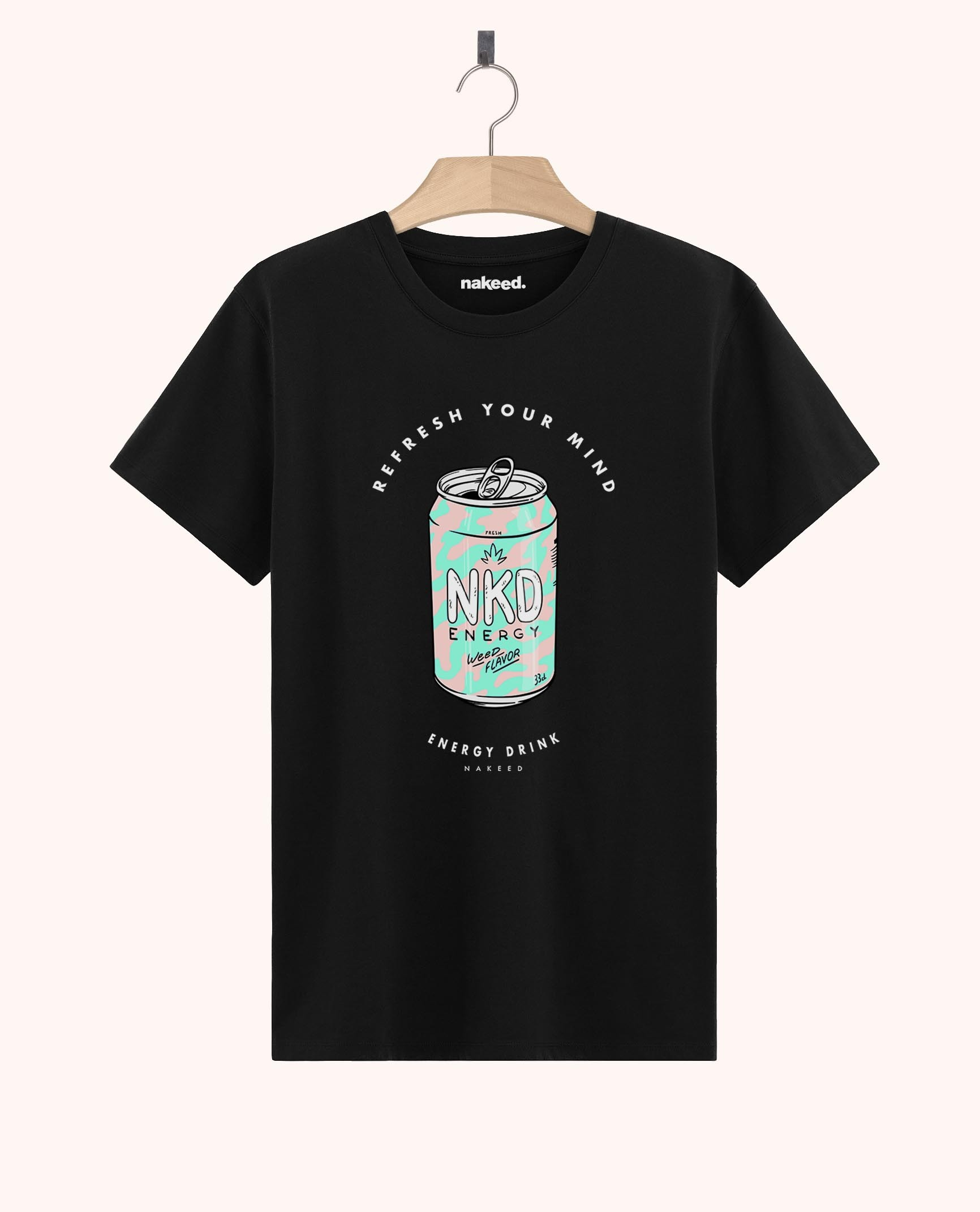 Teeshirt Nakeed Energy Drink