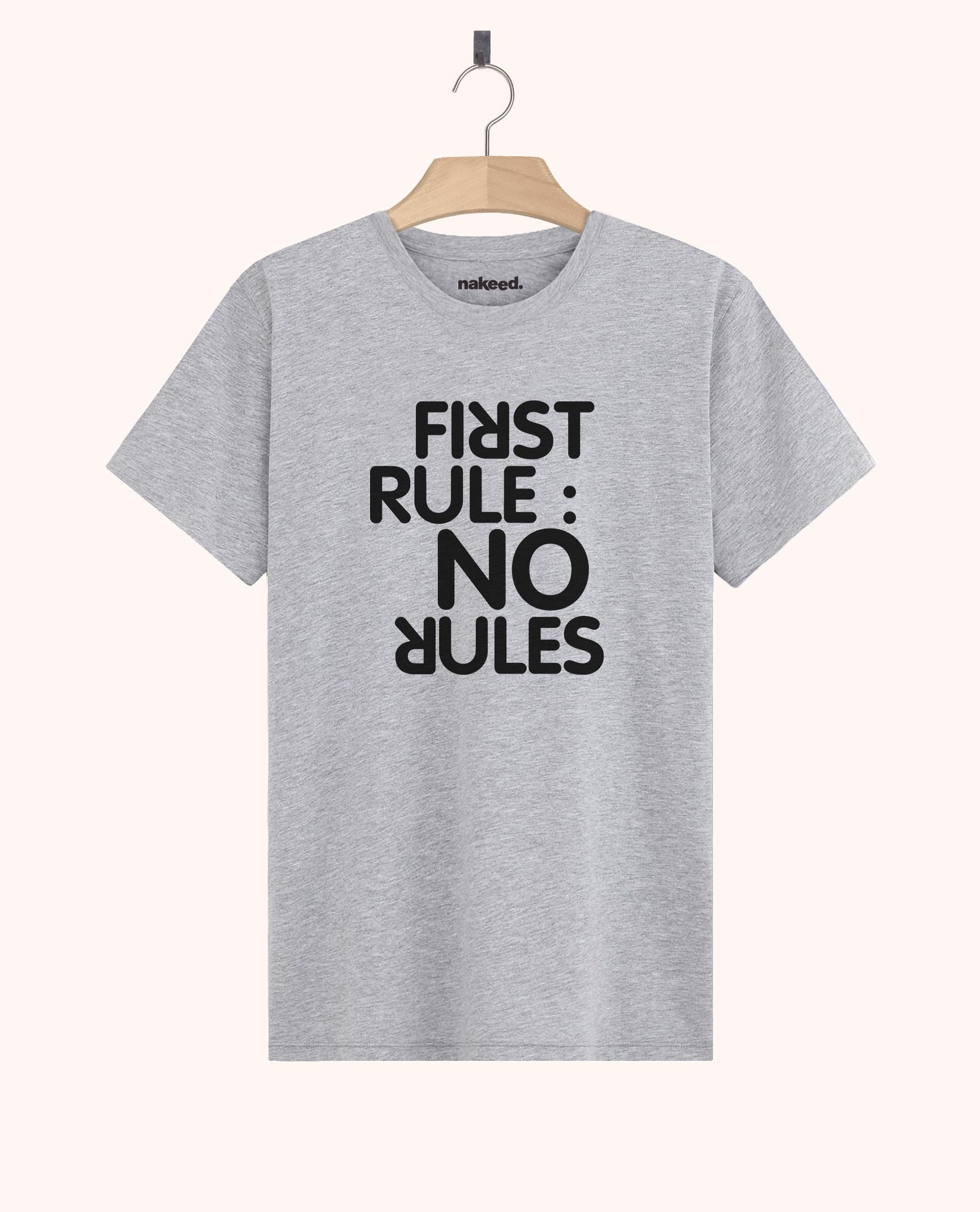 Teeshirt First Rule No Rules