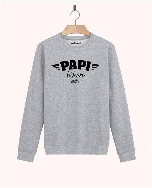 Sweatshirt Papi biker