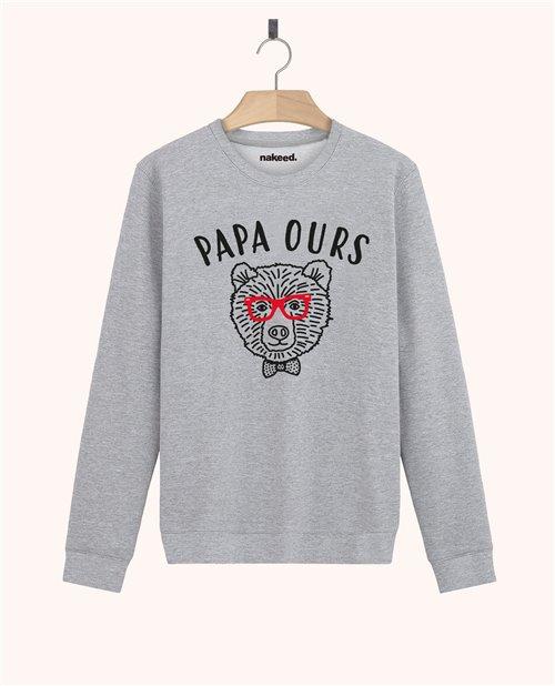 Sweatshirt Papa ours