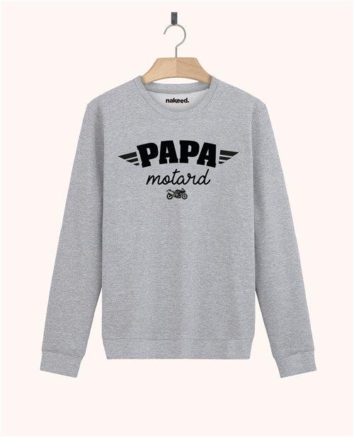 Sweatshirt Papa motard