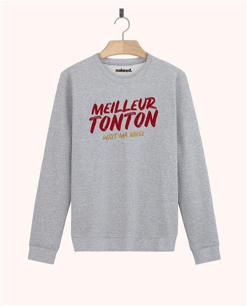 Sweatshirt Meilleur tonton dixit ma nièce