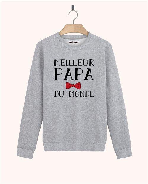 Sweatshirt Meilleur papa du monde