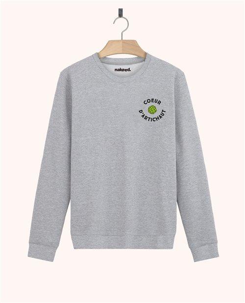 Sweatshirt Cœur d'artichaut
