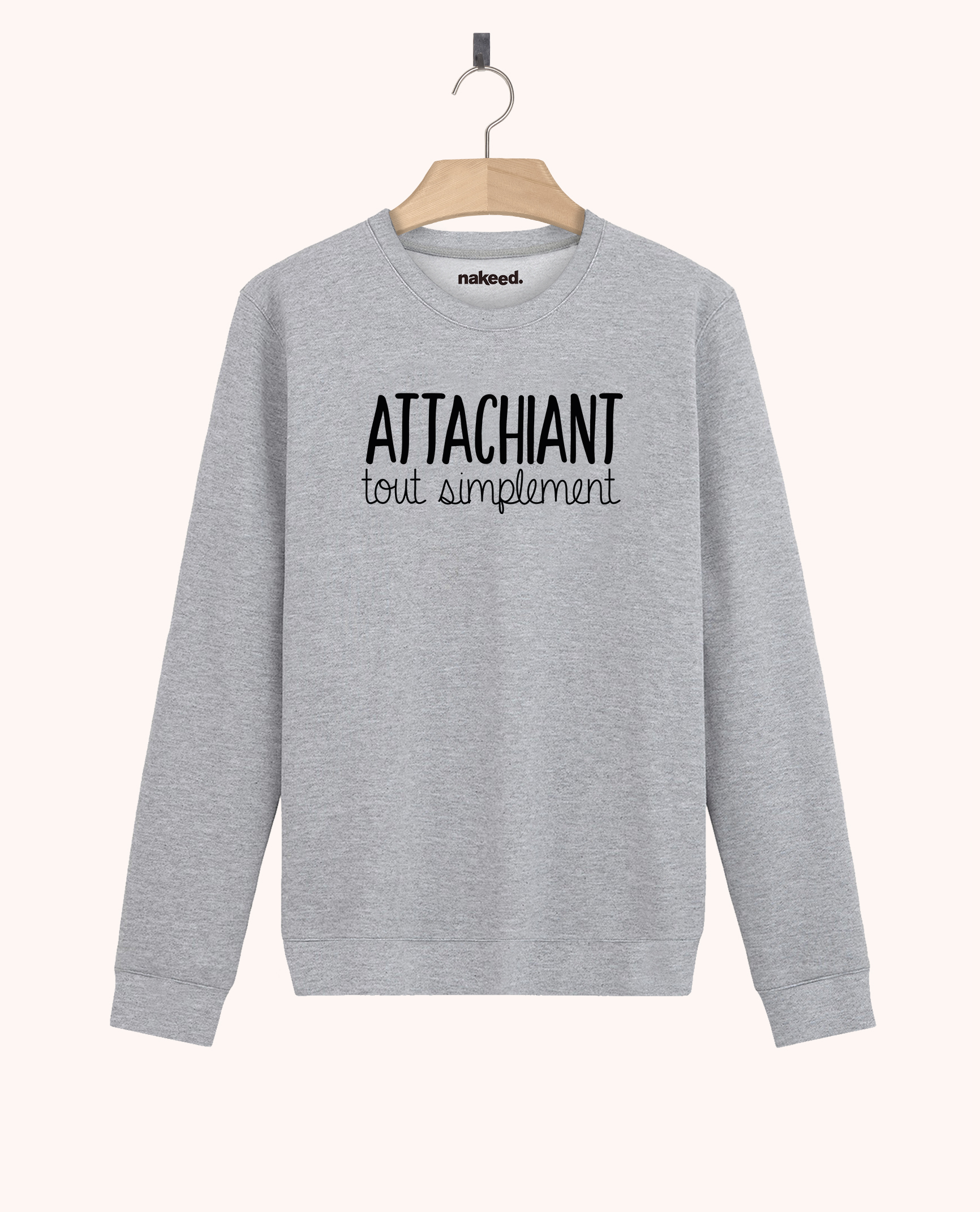 Sweatshirt Attachant tout simplement