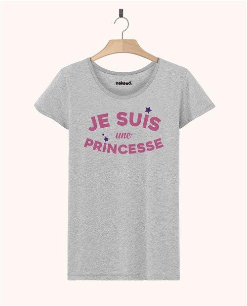 Teeshirt Je suis une princesse