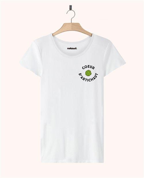 Teeshirt Cœur d'artichaut