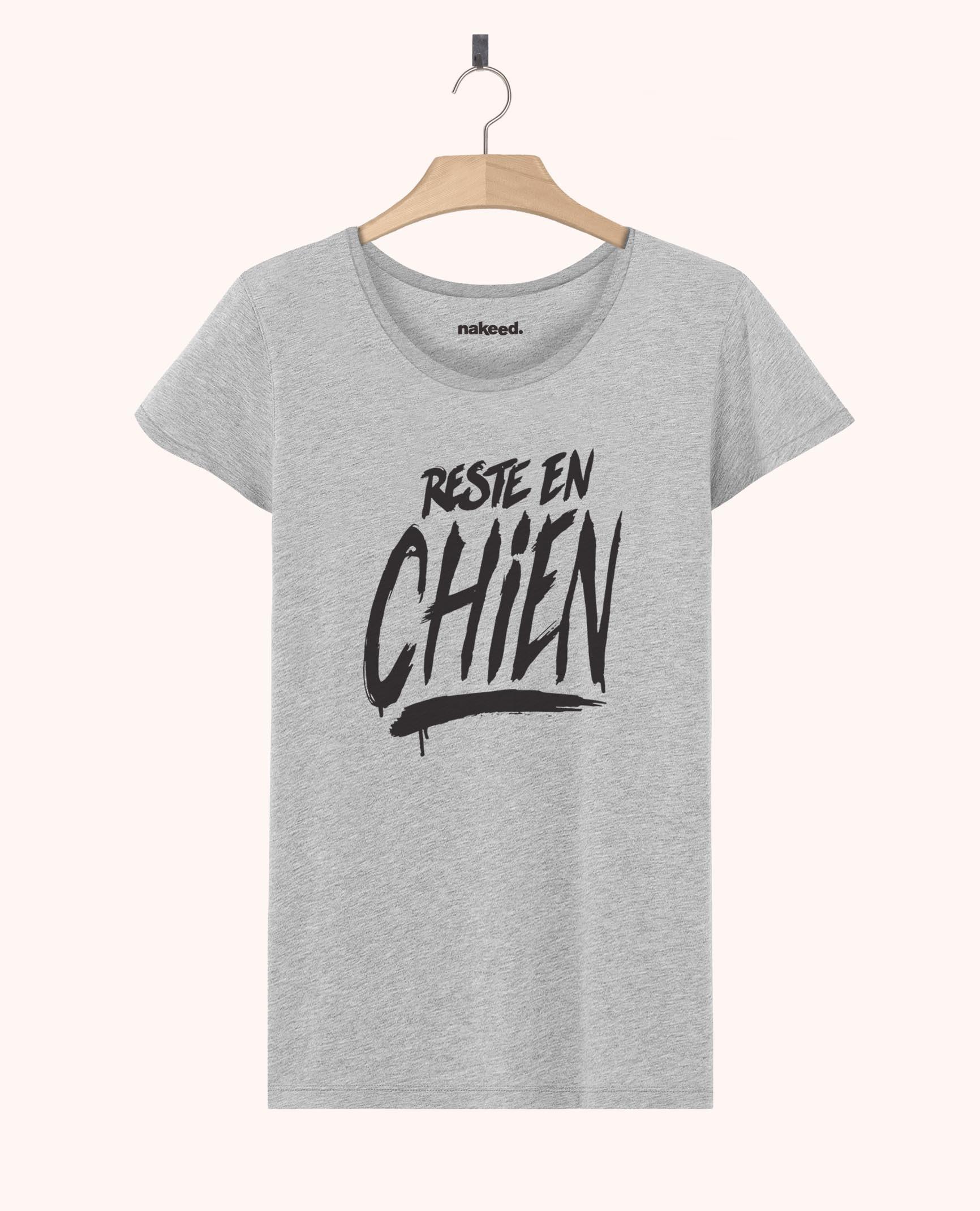 Teeshirt Reste en Chien