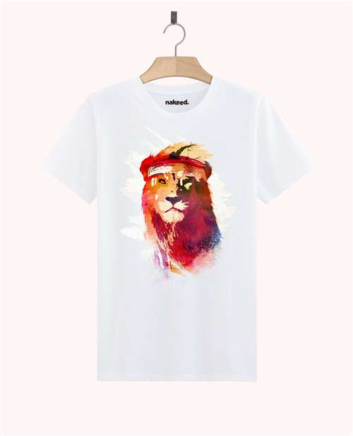 Teeshirt Gym lion