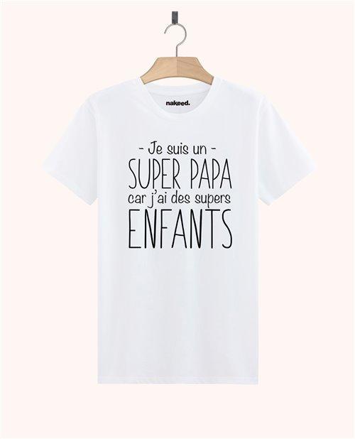 Teeshirt Je suis un super papa