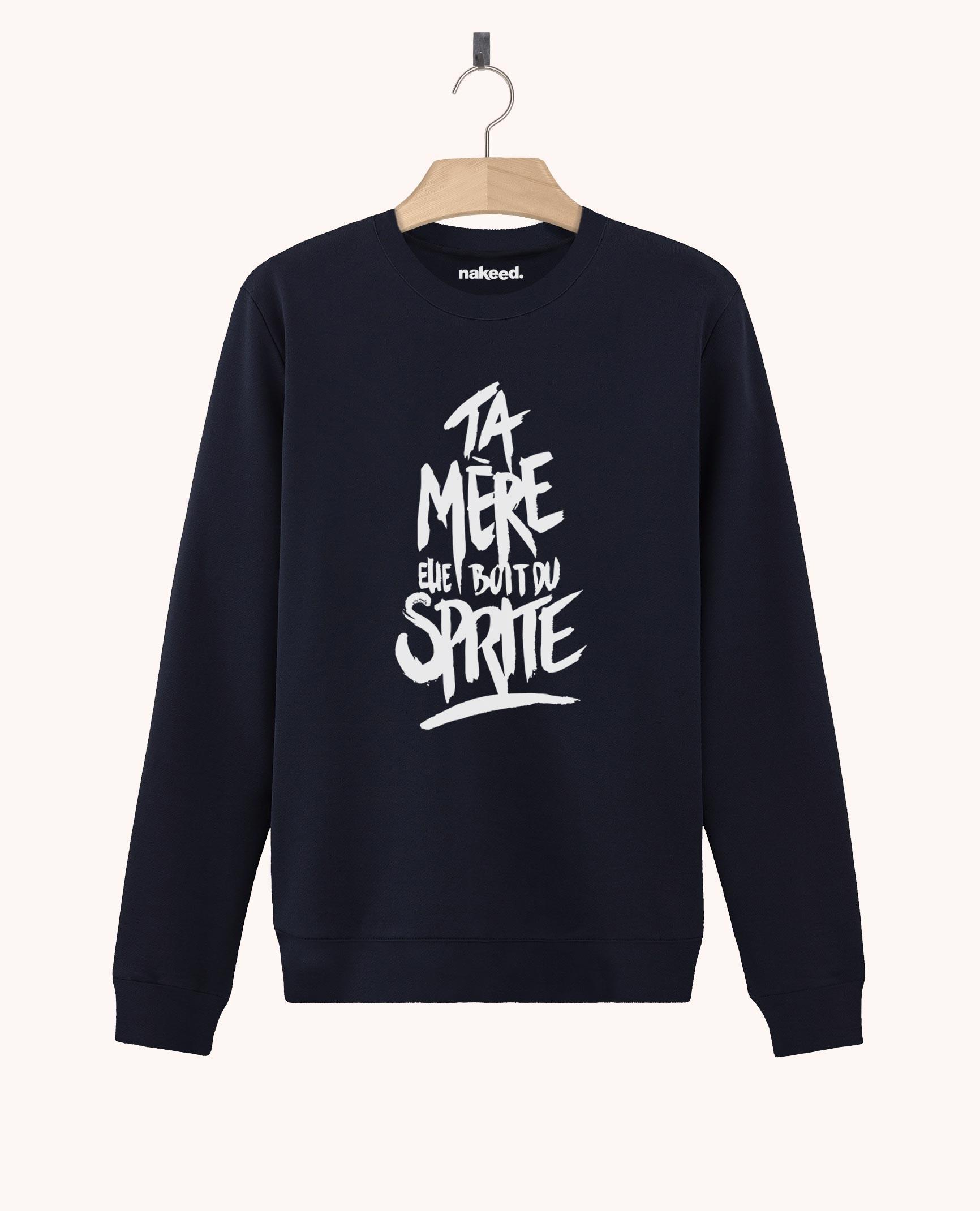 Sweatshirt Elle Boit du Sprite