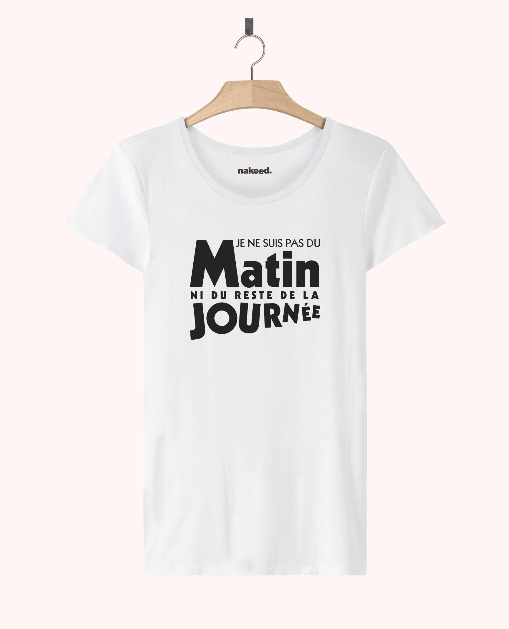 Teeshirt Je ne Suis pas du Matin