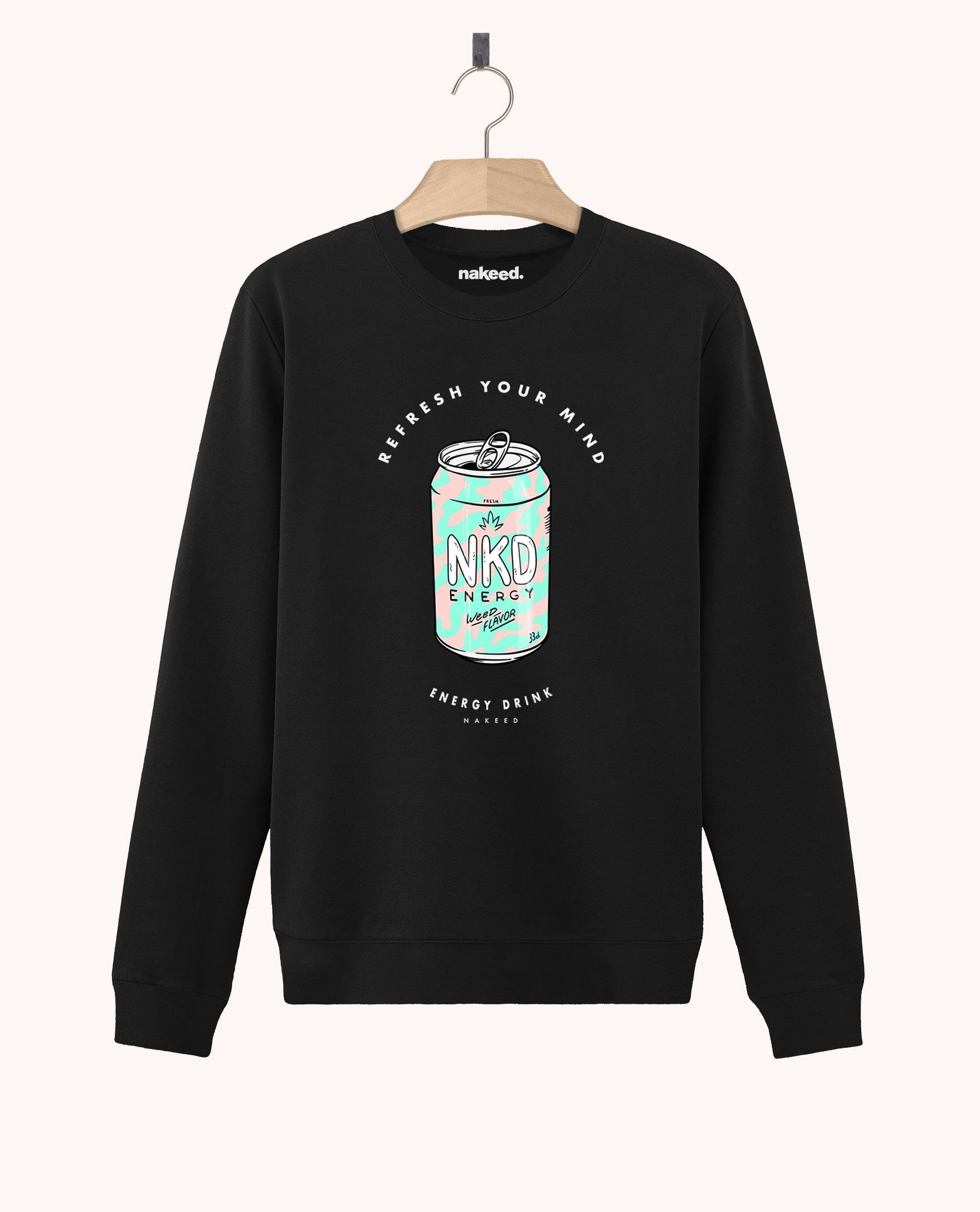 Sweatshirt Nakeed Energy Drink