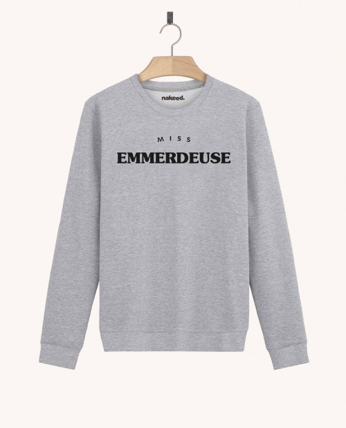 Sweatshirt Miss Emmerdeuse