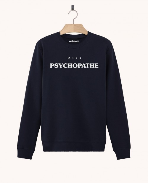 Sweatshirt Miss Psychopathe