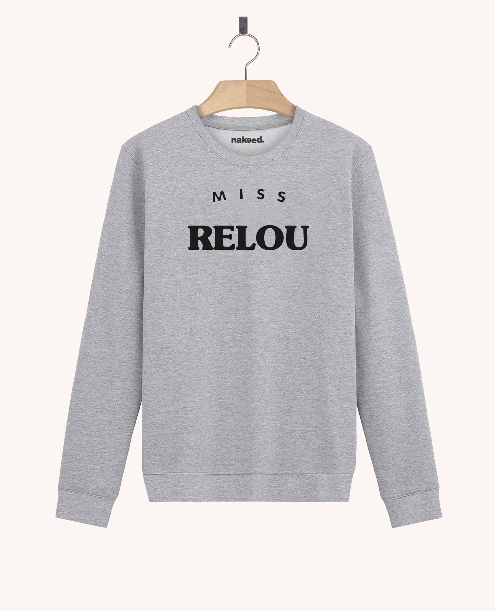 Sweatshirt Miss Relou