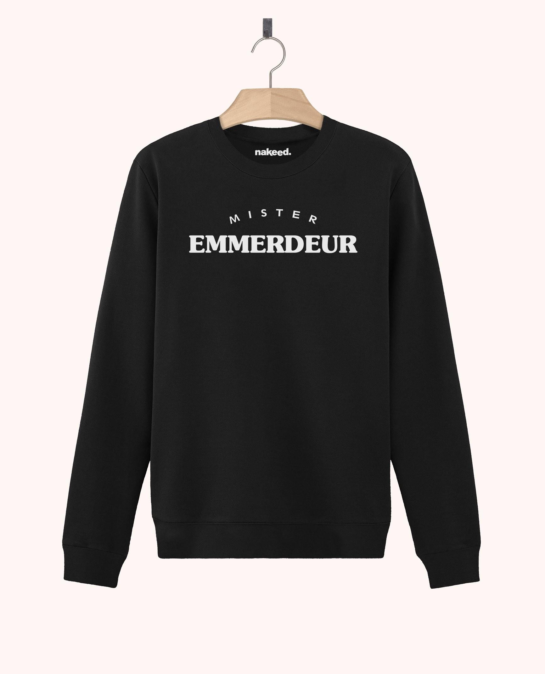 Sweatshirt Mister Emmerdeur