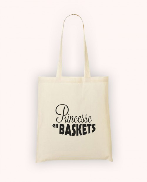 Totebag Princesse en Baskets