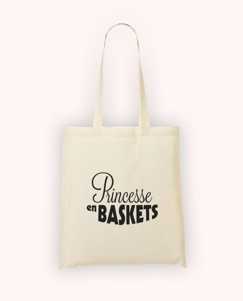 Totebag Princesse en Baskets