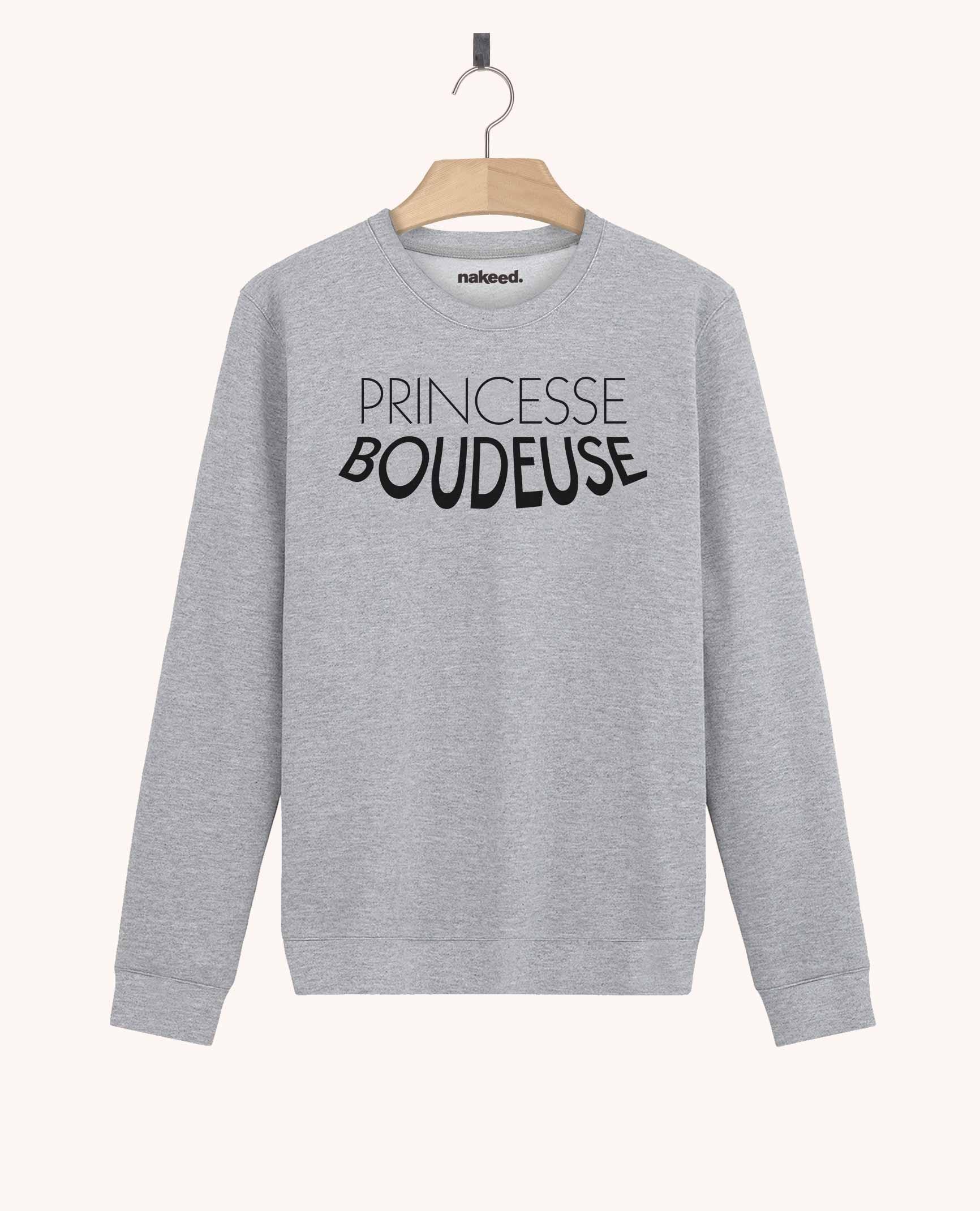 Sweatshirt Princesse Boudeuse