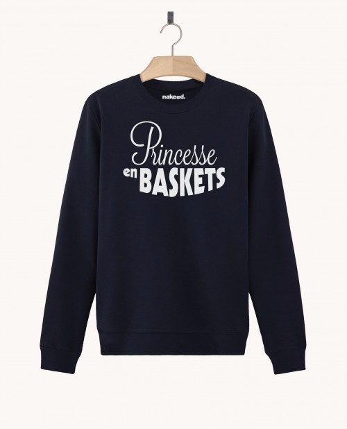 Sweatshirt Princesse en Baskets