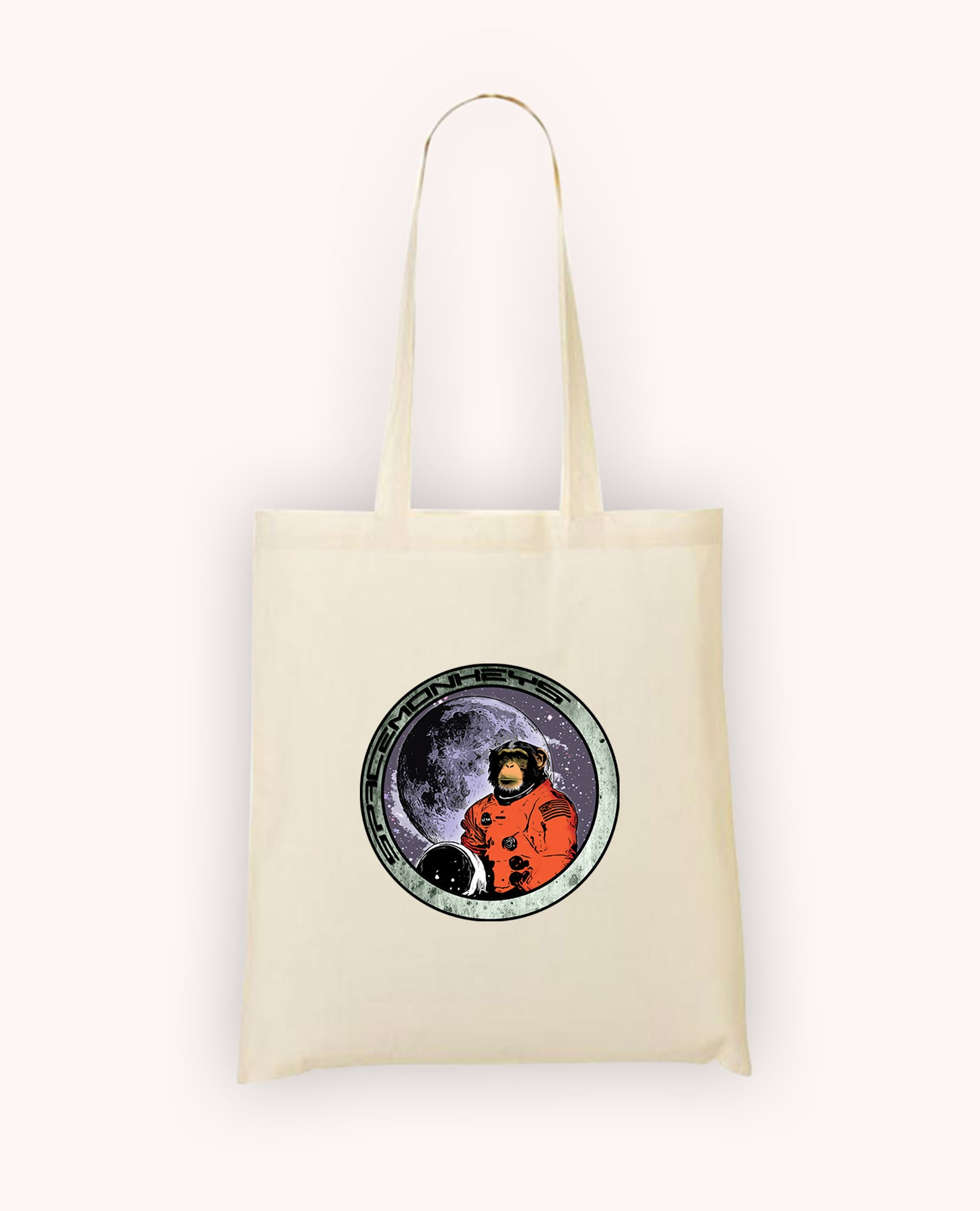 Totebag Space Monkey