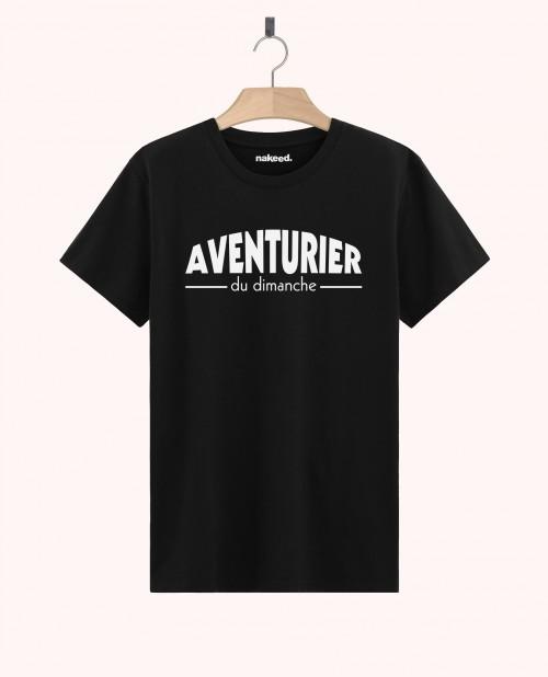 Teeshirt Aventurier du Dimanche