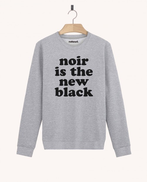 Sweatshirt Noir is the New Black