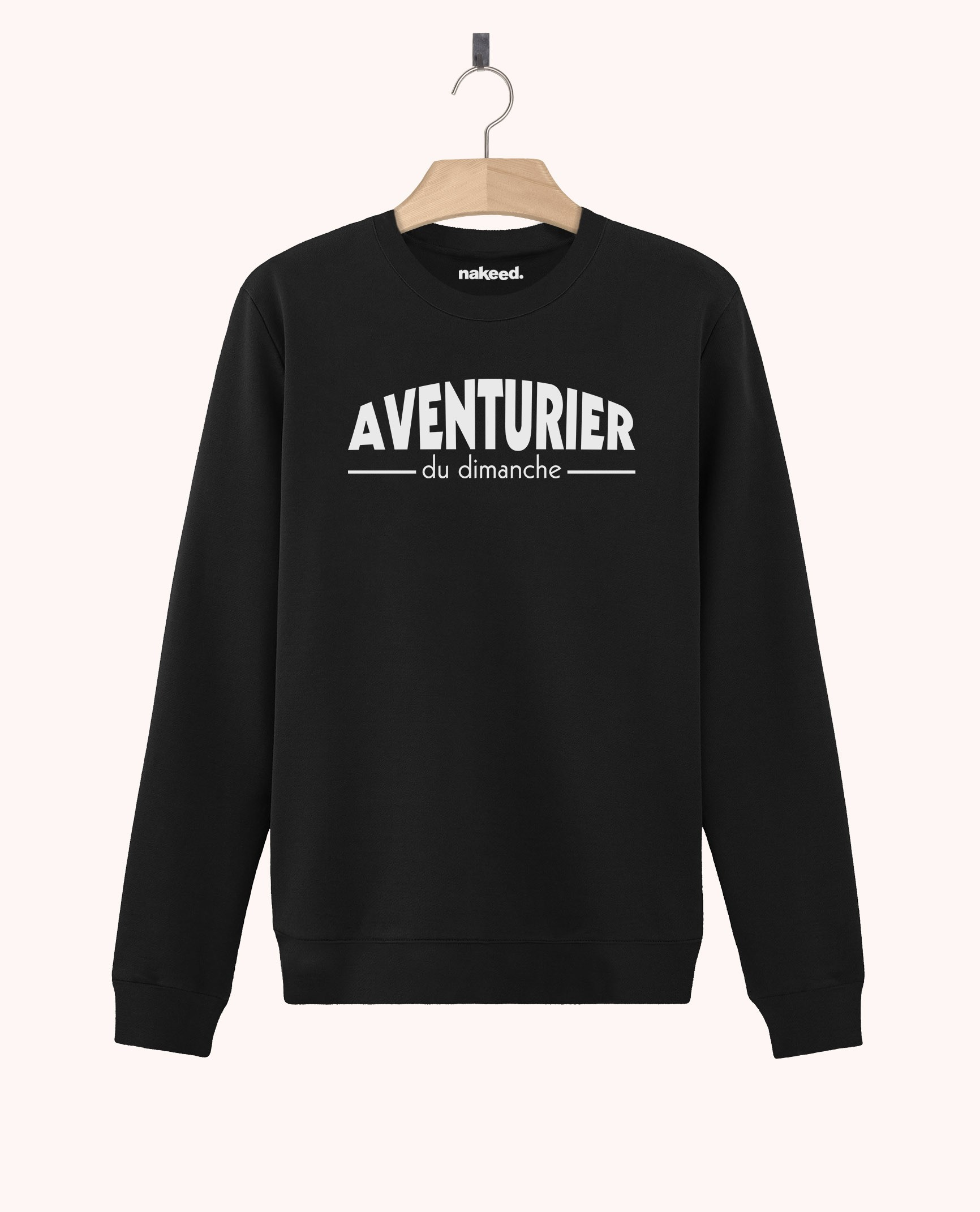Sweatshirt Aventurier du Dimanche